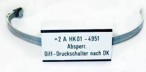 Rohrleitungskennzeichnung für Industrie und Anlagenbau
